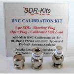 BNC 3-pc Calibration Kit