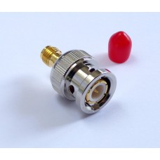 BNC Plug to SMA Jack Adapter