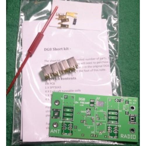 DG8 2M Masthead Pre-Amplifier 144MHz - Short Kit