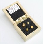 Premium Female SMA SOL 4 pcs Calibration Kit of 12 GHz Parts in wooden box