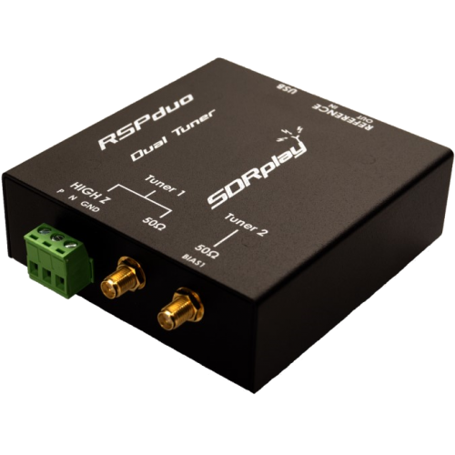 SDRplay RSPduo Dual Tuner 1 kHz - 2000 MHz Wideband SDR Receiver