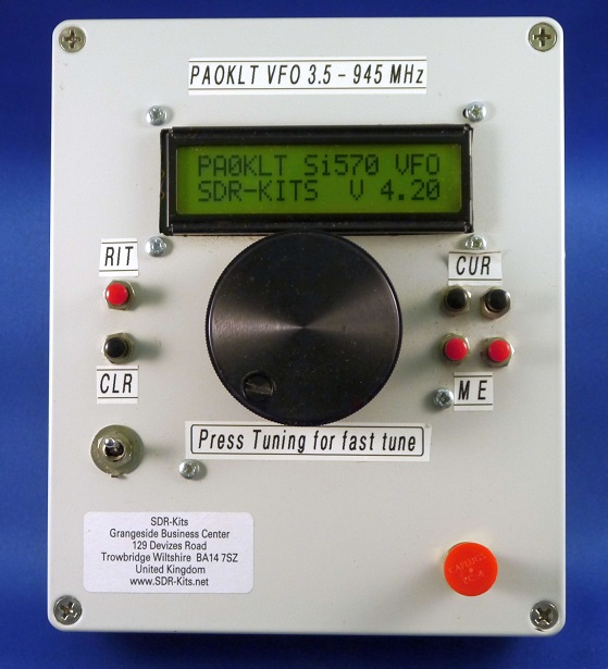 PA0KLT Low Noise VFO Synthesised Kit